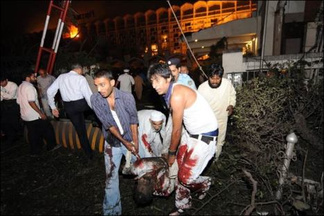 Marriot Suicide Attack Injuries
