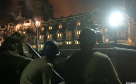 Mumbai Attack: Mumbai Policemen on the Guard