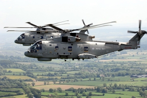 Merlin helicopters