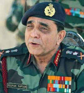 indian Army Chief Gen Deepak Kapoor