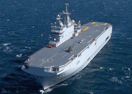 حاملات المروحيات Mistral-class-ship