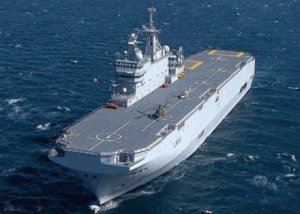 France's Mistral class ship